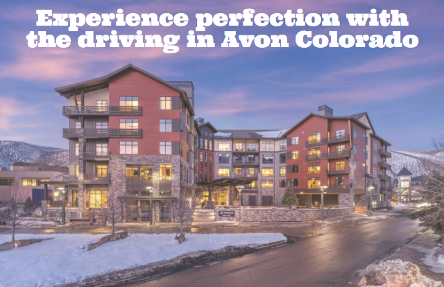 Experience perfection with the driving in Avon Colorado